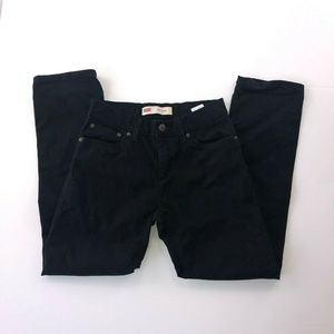 Levi's Men's 28W 511 Slim Black Demin Pants